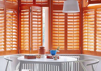 Rainbow Colored Shutters: OrangeRainbow Colored Shutters: Orange