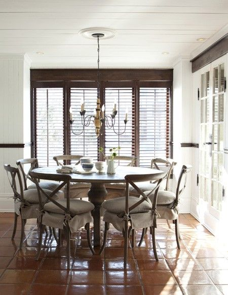 Wood-Stained Plantation Shutters 2