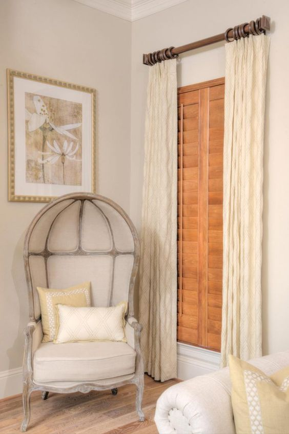 Wood-Stained Plantation Shutters 3