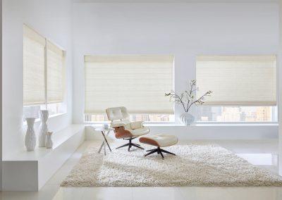 Custom Woven Wood Shades - Image 1